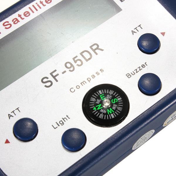 SF-95DR Digital Satellite Signal Meter Finder Network Directv