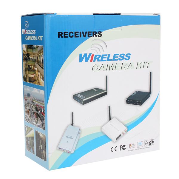 1.2G Wireless Color CMOS CCTV Security Surveillance Camera ...