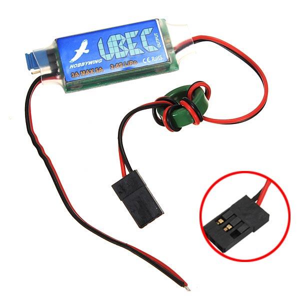 hobbywing 3a ubec 5v 6v switch mode bec for rc models alexnld com rh alexnld com