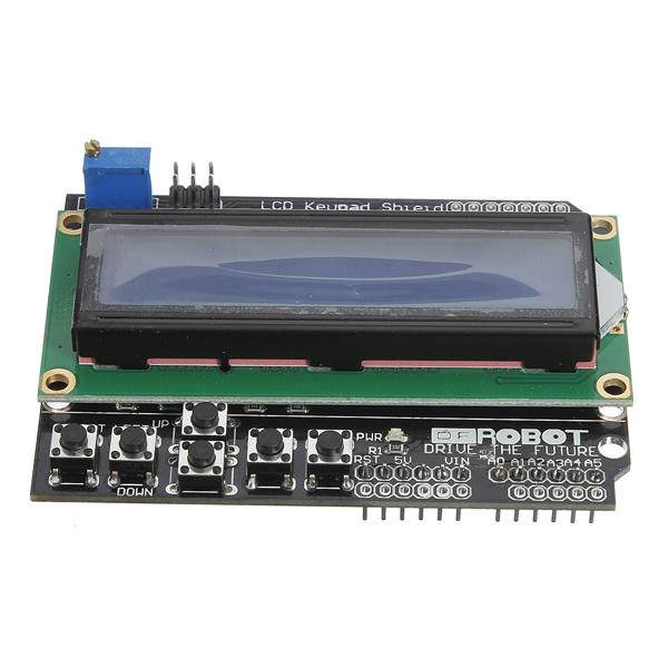 Keypad shield blue backlight for arduino robot lcd