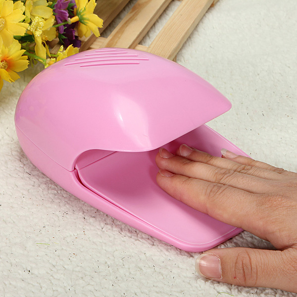 Nail Dryer Product: Portable Nail Dryer Mini Cute Hand Toe Nail Art Gel Tip