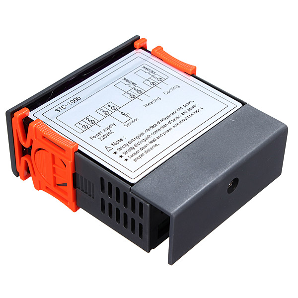 STC-1000 220V All-Purpose Digital Temperature Controller ...