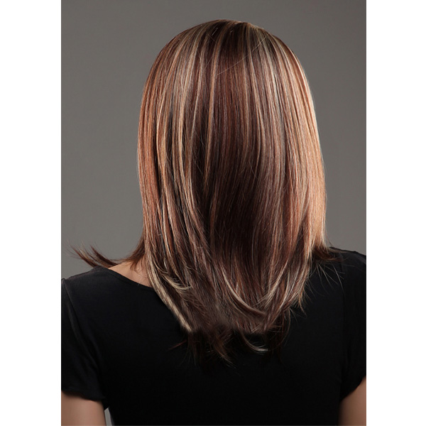 Parted middle highlights color long straight hair wigs alex nld sku1039325g pmusecretfo Images