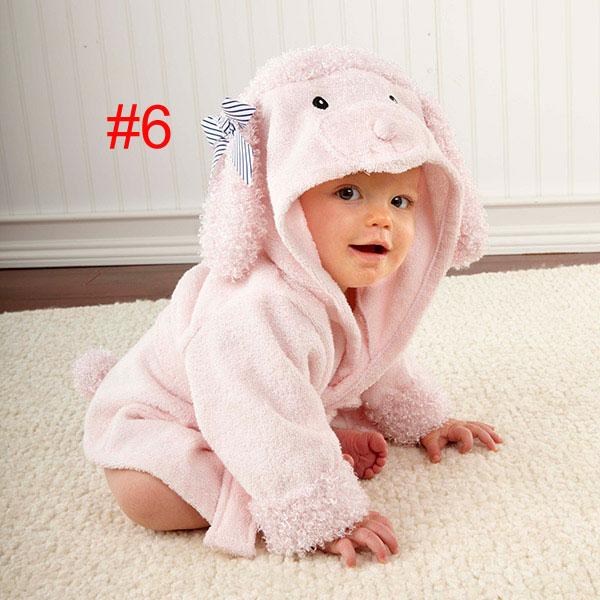 Baby Nighty Pajamas Kids Toddler Animal Cartoon Bathrobe Towel ... 0d992a50e