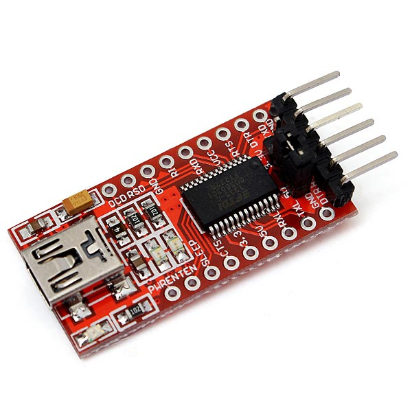 Ft rl ftdi usb to ttl serial converter adapter module