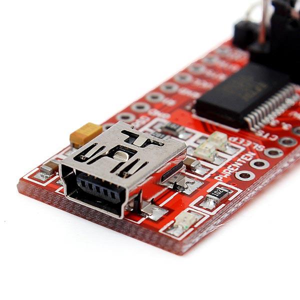 2pcs Ft232rl Ftdi Usb To Ttl Serial Converter Adapter