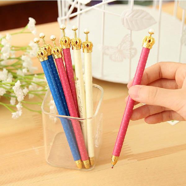 3Pcs Elegant Crown Ball Pen Personalized Stylish Ballpoint Pens · SKU117471-1. ...