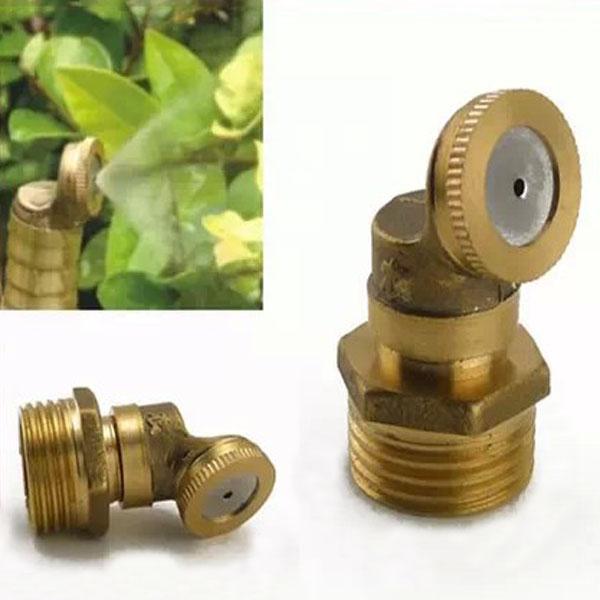 Brass agricultural mist spray nozzle garden irrigation