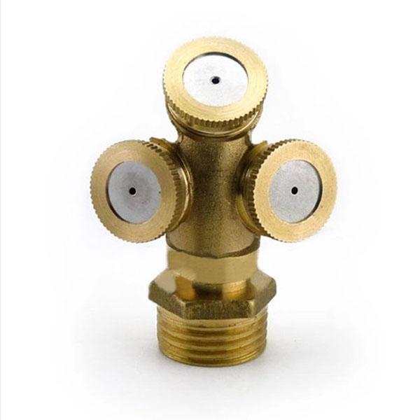 Mist Spray Heads : Brass agricultural mist spray nozzle garden irrigation