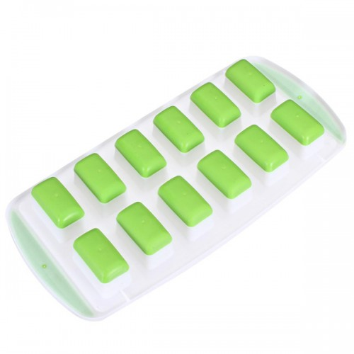 Rectangle Silicone Ice Cube Tray Jelly Chocolate Pudding Mold