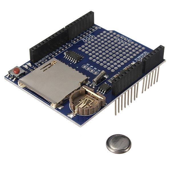 Logging recorder shield data logger module for arduino uno