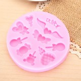 Silicone Chocolate Cake Decorating Mold Candy Lollipop Mold