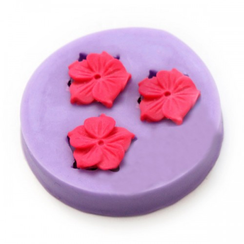 Silicone Cake Flower Mold Flower Fondant Chocolate DIY Soap Mold