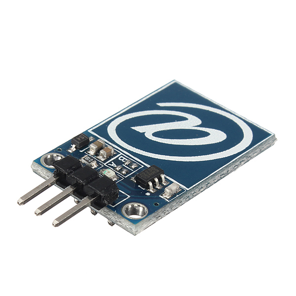 Capacitive digital touch sensor hand detection module for