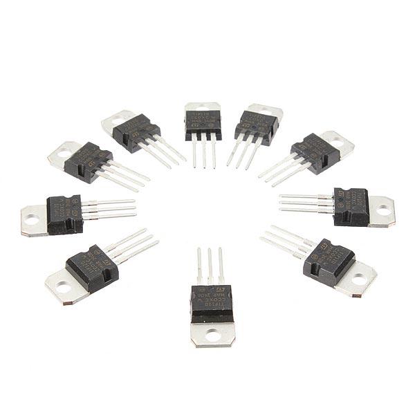 10PCS TIP120 60V 5A TO-220 Darlington Transistors NPN