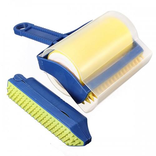 Reusable Rubber Sticky Hair Remover Picker Cleaner Roller Brush Fur