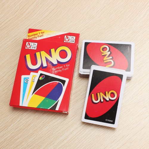UNO Card Game Playing Card Family Friend Travel