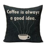 Nordic Home Decor Linen Waist Pillow Case Sofa Cushion Cover