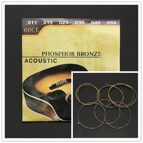 60cl 011 050 phosphor bronze wound steel acoustic guitar strings alex nld. Black Bedroom Furniture Sets. Home Design Ideas