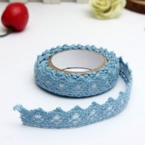 170cm DIY Fabric Lace Washi Tape Self Adhesive Scrapbook Sticker