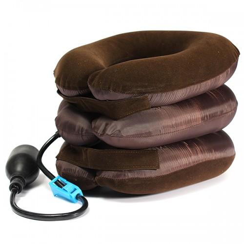 air cushion neck cervical traction shoulder support brace pillow. Black Bedroom Furniture Sets. Home Design Ideas