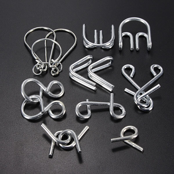 how to solve metal puzzle toys