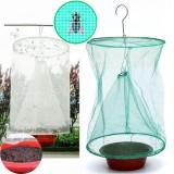 Gardening Drosophila Fly Trap Net Reusable Insect Catcher Killer Cage