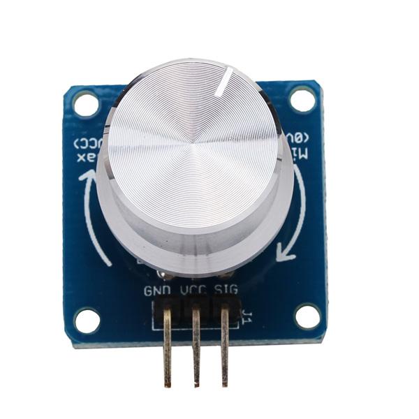 Adjustable potentiometer volume control knob switch rotary