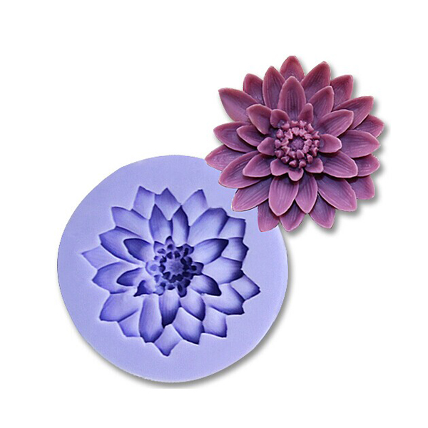 3d Cake Decorating Download : 3D Chrysanthemum Silicone Fondant Mold Cake Decorating ...