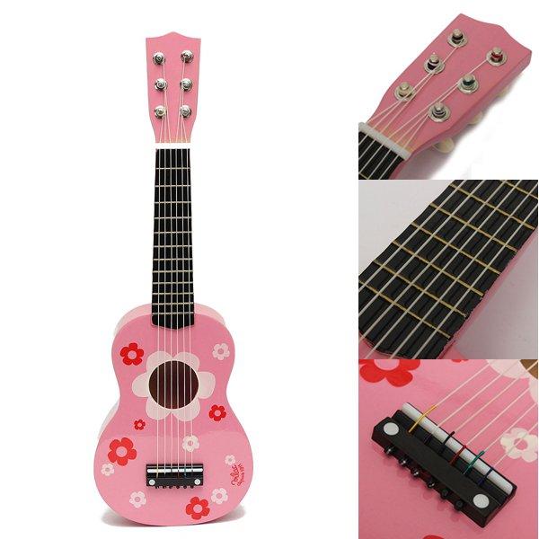 childrens acoustic guitar ideal kids gift pink alex nld. Black Bedroom Furniture Sets. Home Design Ideas