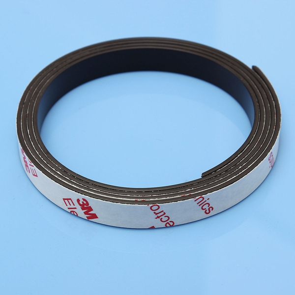 1m self adhesive magnetic strip magnet tape strong magnet for Magnetic fish tape