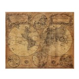 Vintage Retro 1746 Wall World Map Paper Poster Home Wall Decor