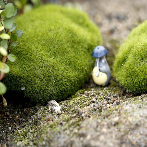 Simulation Moss Stone Garden DIY Micro Landscape Decorations