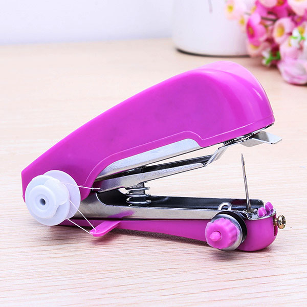 portable mini manual clothes sewing machine handcraft diy. Black Bedroom Furniture Sets. Home Design Ideas