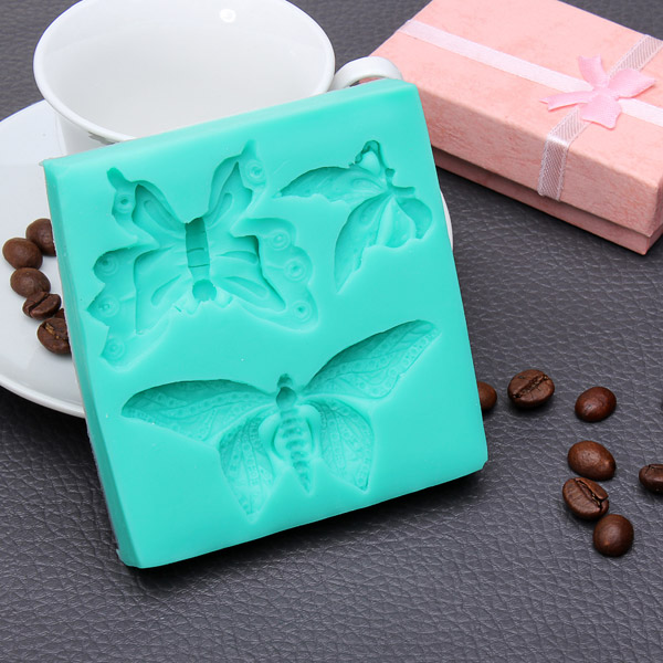 Butterfly Silicone Fondant Cake Mold Soap Mold Chocolate Mould