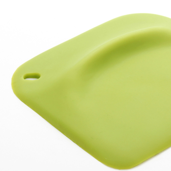 2 PCS Platinum Silicone Butter Cream Scraper Spatula Mixer