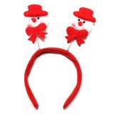 Christmas Santa Snowflakes Headband Hair Band Accessories