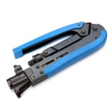 H548A RG6 RG59 RG11 Coaxial Cable Crimper Tool For F Connector