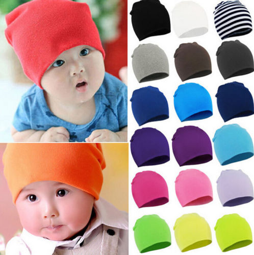 21b88d0f1f3 7 Colors Baby Infant Toddler Cotton Skull Beanie Cap Hat. pic1 ...