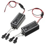 2x Spare Car Angel Eyes Light Halo Rings CCFL Inverter