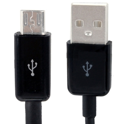 Micro USB Port USB Data Cable for Samsung Galaxy S IV / i9500 / S III / i9300 /Note II / N7100 / i9220 / i9100 / i9082 , Nokia, Sony Ericsson, LG, BlackBerry, HTC, Amazon Kindle, Length: 5m  (Black)