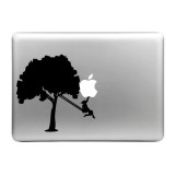 Hat-Prince Smashing Apple Pattern Removable Decorative Skin Sticker for MacBook Air / Pro / Pro with Retina Display, Size: L