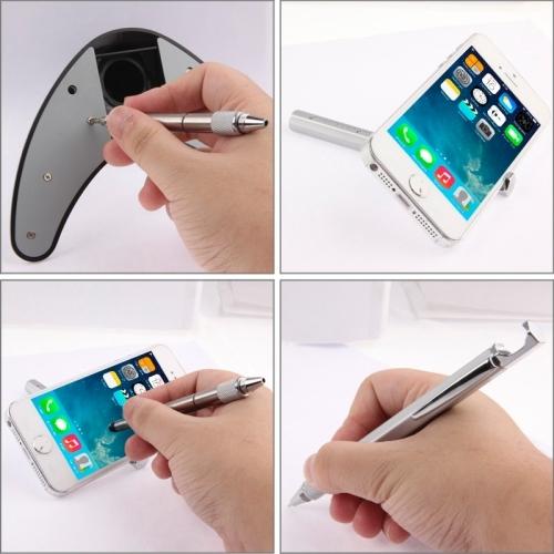 Brand New 8 in 1 High-Sensitive Capacitive Stylus Pen / Touch Pen for iPhone 5 & 5S & 5C / 4 & 4S, iPad Air / iPad 4 / iPad mini / mini with Retina Display / New iPad  (iPad 3) / iPad 2 / iPad and All Capacitive Touch Screen