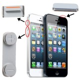 3 in 1  (High Quality Mute Button + Power Button + Volume Button) for iPhone 5