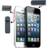 3 in 1  (High Quality Mute Button + Power Button + Volume Button) for iPhone 5  (Black)