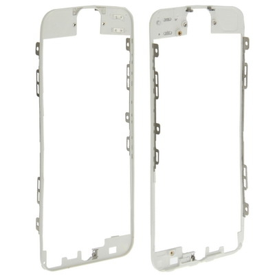 LCD & Touch Screen Frame for iPhone 5 (White)