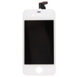 3 in 1  (High Quality LCD, Touch Pad, LCD Frame) Screen LCD & Digitizer Assembly for iPhone 4 (White)
