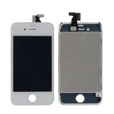 3 in 1  (New High Quality LCD + Touch Pad + LCD Frame) Complete LCD Screen Digitizer Assembly for iPhone 4  (White)