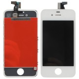 3 in 1  (New High Quality LCD, Touch Pad, LCD Frame) Digitizer Assembly for iPhone 4S  (White)