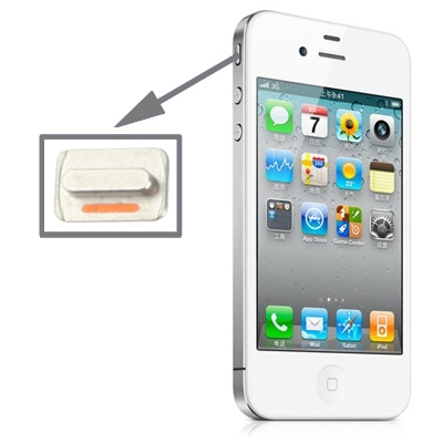 iphone mute button high quality mute switch button key for iphone 4s 2382